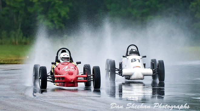 VSCDA Formula Vee Road Racing At Grattan Raceway, Michigan. Dan Sheehan Photographs