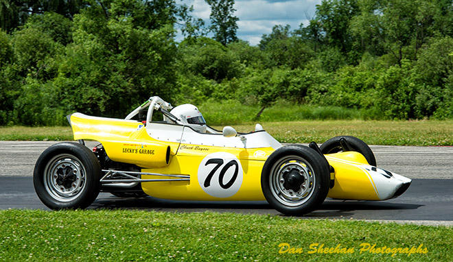 Formula Vee Vintage Sports Car Road Racing At Blackhawk Farms Raceway In Illinois. A VSCDA event. Dan Sheehan Photographs